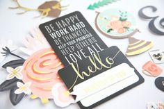 DIY Home Collection - Pebbles Inc. - Scrapbook.com - Wouldn't these die cuts from Pebbles DIY Home collection be perfect on cards?