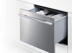 Fisher Paykel Dishwasher Drawer, Remodelista. Under bench dishwasher.