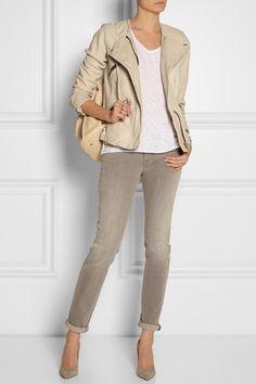 c3900d282f Isabel Marant Étoile - Bradi washed-leather jacket