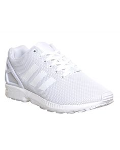 a539b5e0cd675 Best Adidas ZX Flux Womens Shoes All White Hot Sale £54.80