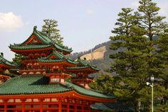 HEIAN JINGU Kyoto Japan