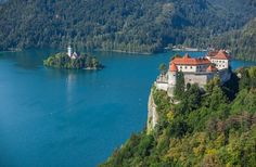 Summer holidays in the wonderful resort of Bled, Slovenia