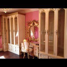 Bridget Marquardt's dressing room