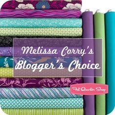 Melissa Corry's Blogger's Choice Fat Quarter Bundle