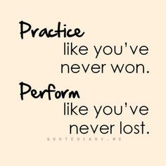 softball - Practice like you've never won. Perform like you've never lost.