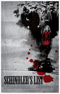Schindler's List Movie Poster Print 11X17 by sanasini on Etsy, $18.00