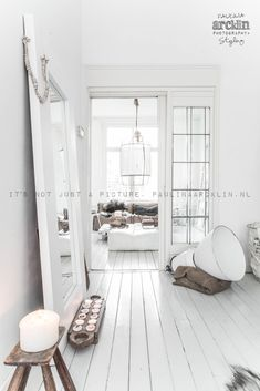 18 Home Wood Floor Design Home Wood Floor Design. 18 Home Wood Floor Design. Young Home Love Clean White & Pretty A Lovely & Simple White Painted Wood Floors, White Wooden Floor, White Rooms, White Bedroom, White Floorboards, Bedroom Flooring, Wood Flooring, White Flooring, Painting Wood Floors