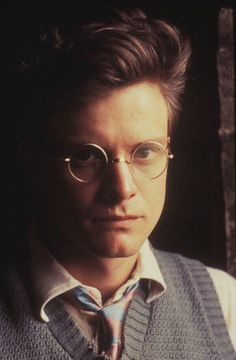 Colin Firth- have liked him since before he became famous. Everyone should see Another Country! Uk Actors, British Actors, Actors & Actresses, Sr. Darcy, Beautiful Boys, Gorgeous Men, Colin Firth Mr Darcy, Bbc Tv Series, Hugh Grant