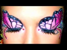 "Pink Monarch butterfly ""half""-tutorial"