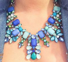 Designer necklaces, Stylish eye catching statement necklaces http://www.justtrendygirls.com/stylish-eye-catching-statement-necklaces/