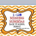 --There are 6 missing number charts-1-120.  They are all fall themed but most can be used all year long!  Cute graphics include apples, school supplies...etc. This aligns with grade 1 Common Core Standards.