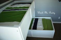 Watch Me Daddy: DIY L Bunk Beds