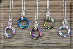 Brilliance necklaces by Mermaid's Dream Jewelry