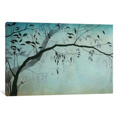iCanvas 'Forest Mist' by Ivy Jacobsen Painting Print on Wrapped Canvas