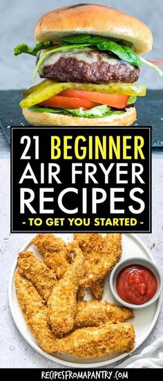 Whether you're brand new to the world of air fryers or a seasoned pro, you will absolutely love this collection of Best Air Fryer Recipes For Beginners. From main dishes, sides and snacks to breakfasts and sweet treats, every dish included is quick, Air Fryer Oven Recipes, Air Frier Recipes, Air Fryer Dinner Recipes, Air Fryer Recipes Breakfast, Recipes For Airfryer, Airfryer Breakfast Recipes, Air Fryer Rotisserie Recipes, Yummy Recipes For Dinner, Air Fryer Recipes Zucchini