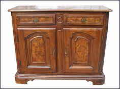 Tavolo fratino ~ Tavolo fratino in legno antico con intarsio e ferri mobili