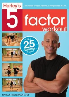 Harley's 5-Factor Workout DVD ~ Harley Pasternak, http://www.amazon.com/dp/B00A6TMA3U/ref=cm_sw_r_pi_dp_A0kYrb1S2NK7Z