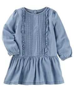 Baby B'Gosh Blue Denim Dress - Toddler