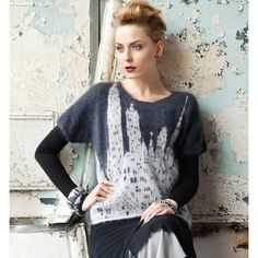 Inside the current issue of Vogue Knitting Magazine Knitting Patterns Free, Knit Patterns, Free Knitting, Free Pattern, Knitting Stiches, Knitting Sweaters, Editor Of Vogue, Classic Elite Yarns, Resort Dresses