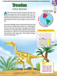 Buku Pintar Ensiklopedia Dinosaurus dan Binatang Purba Katabaca.com Jurassic World, Peta, Dinosaurs, Studying, Knowledge, Science, Books, Animals, Decor