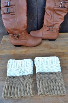 Customize Reversible Boot Cuffs