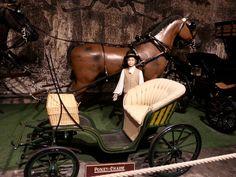 Le Chateau de Vaux Le Vicomte, carriage from the 1800s