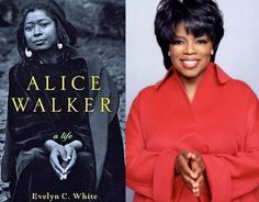 Alice Walker, Oprah Winfrey hand symbols represent Earth Mother Goddess, the consort of Lucifer, the woman figure whose sign is the downward pointing triangle, reigns side-by-side with Satan over the Illuminati and its minions. The Water symbol.