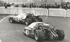 Ford Vs Ford . Le Mans 1967 .