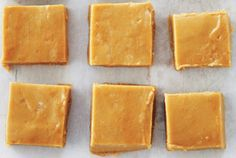 Maple Fudge 2c packed brown sugar, 1c whipping cream, 1/2 c pure maple syrup, 2 tbsp butter cut in small pieces, 1 tsp baking soda, 1 tsp vanilla