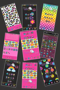 Fancy Go Launcher Theme comes with 13 wallpapers around 65 icons to choose from App Drawer themed Menu's all themed.