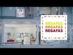 General óptica, que haciendo un juego de palabras nos dicen que nos presentan las #regafas para que  consigas más por menos