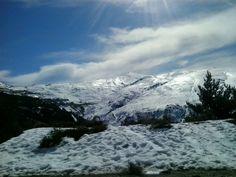 Sierra Nevada, Granada, Spain Sierra Nevada, Granada Spain, Mount Everest, Skiing, Mountains, Places, Nature, Travel, Parking Lot