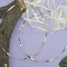 Στέφανα από επάργυρη βέργα ροζ- χρυσό, ελαφρώς στριφτή Hoop Earrings, Wreaths, Wedding, Jewelry, Decor, Valentines Day Weddings, Jewlery, Decoration, Door Wreaths