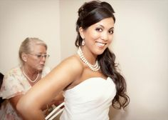 Pic of brides hair and make-up by Stephanie - (contact details adjacent)