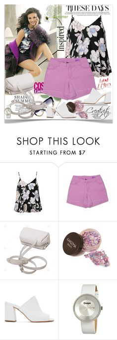 """Floral blouse"" by creativity30 ❤ liked on Polyvore featuring Ally Fashion, Lane Bryant, Maryam Nassir Zadeh and Crayo"