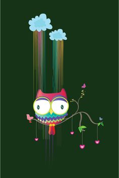 'Colorfuowl' by Maria Jose Da Luz