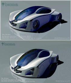 Mercedes Biome Picture  (3d, automotive, mercedes, sci-fi, futuristic, car)