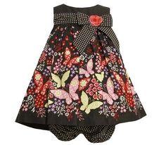 Bonnie Baby Baby-Girls Infant Butterfly / Flower Poplin Dress, Black, 12 - 24 Months Bonnie Baby, http://www.amazon.com/dp/B008CHEF7M/ref=cm_sw_r_pi_dp_7gjwqb0RT3Y7K