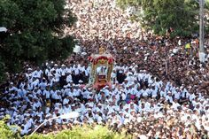 Every October, Belém receives tens of thousands of tourists for the year's most important religious celebration, the procession of the Círio de Nazaré.