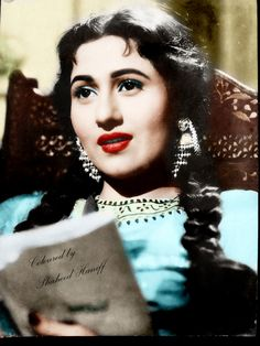 What a iconic beauty of india... madhubala..
