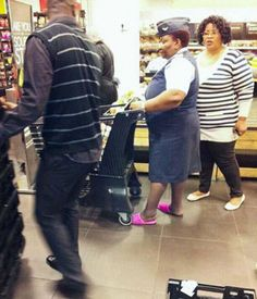 Only in SA - Air Force officer caught wearing pink slippers with Uniform