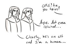 "Tolkien Trash - ""twin-moments"" with Elrond and Elros"