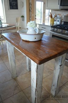 "Kitchen Island Rustic 60"" workbench at harbor freight tools 