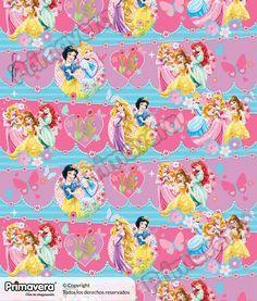 Papel Regalo Princesas 1-18-579 http://envoltura.papelesprimavera.com/product/papel-regalo-princesas-1-18-579/