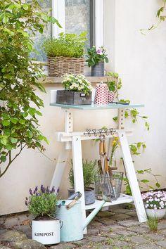 Wunderbar DIY Ikea Hack Einen Pflanztisch Schnell Selberbauen Für Den Garten Oder Die  Terrasse