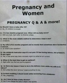 Pregnancy is hilarious, I'm telling you. When it isn't me who's pregnant.