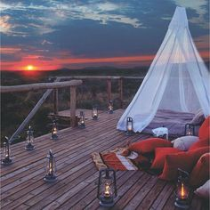 The ultimate #glamping experience