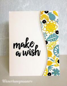 wienerhoneymooners: Make a Wish Card - NEW Pinterest Inspired Challenge!