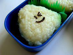 윙크 주먹밥