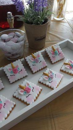 unicorn cookies Unicorn Cookies, Cake, Desserts, Food, Pie Cake, Tailgate Desserts, Pastel, Meal, Dessert